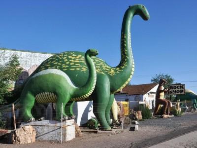 Rainbow Rock Shop Dinosaurs