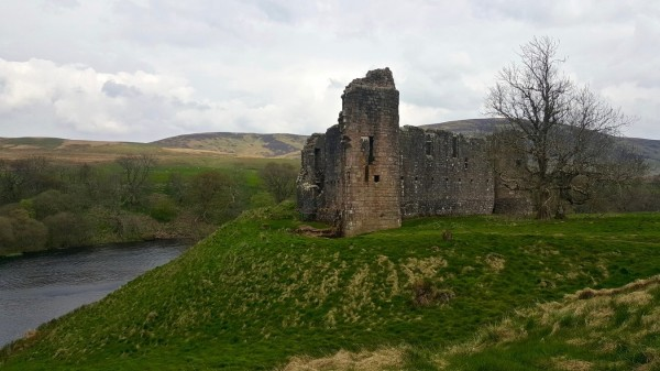 Morton Castle @TheCastleHunter