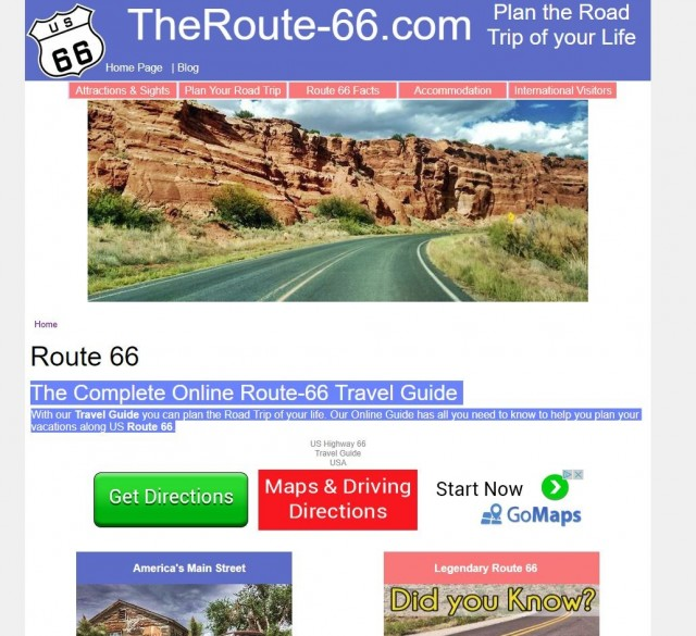 Route-66 Travel Guide