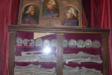 Crypt Beneath St. Joseph des Carmes