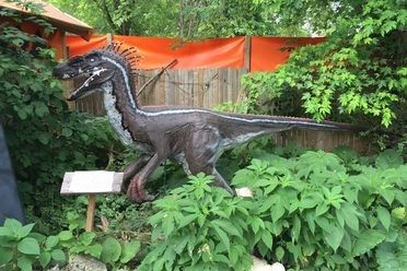 Backyard Terror's Dinosaur Park