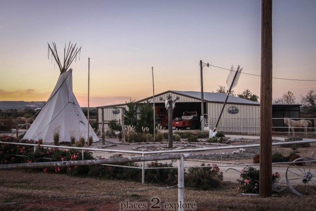 Giant Arrow and Teepee