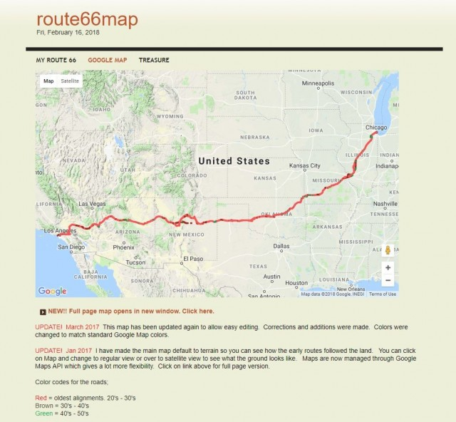 Route66map