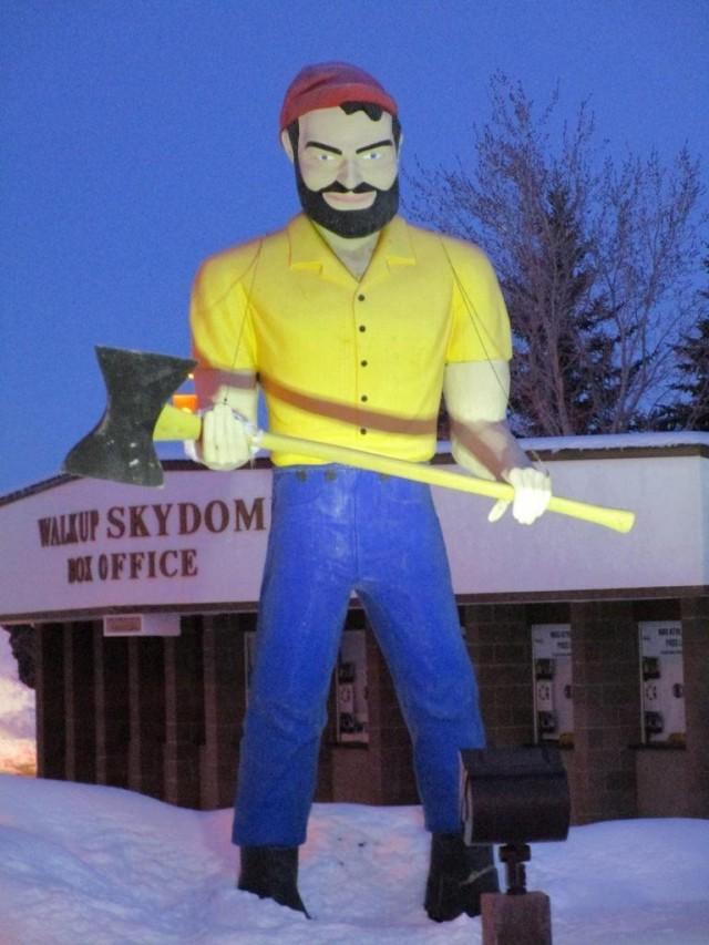 Lumberjack Muffler Man
