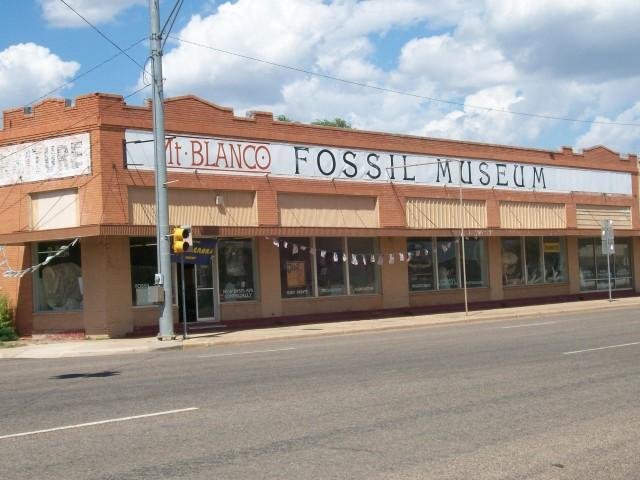 Mt. Blanco Fossil Museum